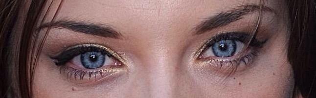 Deep set eyes lash style