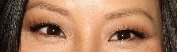 monolid eyelash style